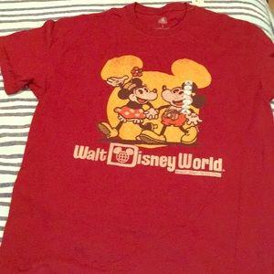 NWT Mickey and Minnie tee
